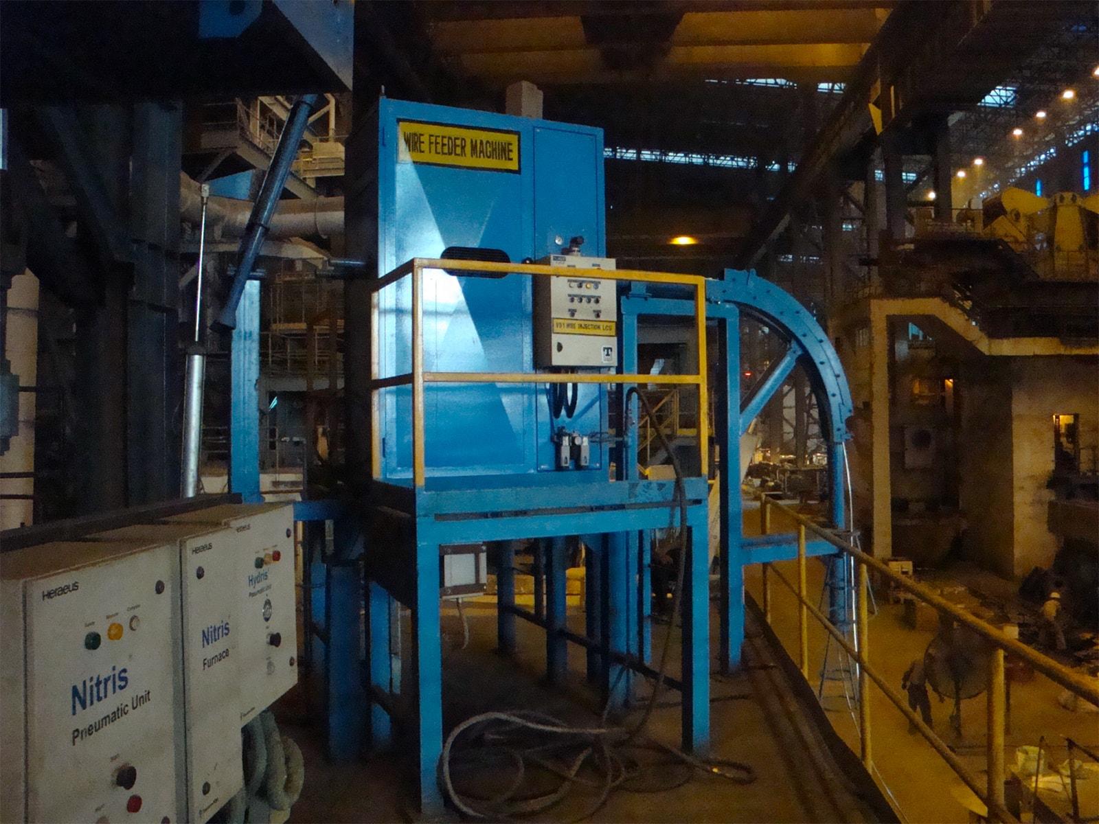 Wire Feeding Machine - CEBA S.r.l.